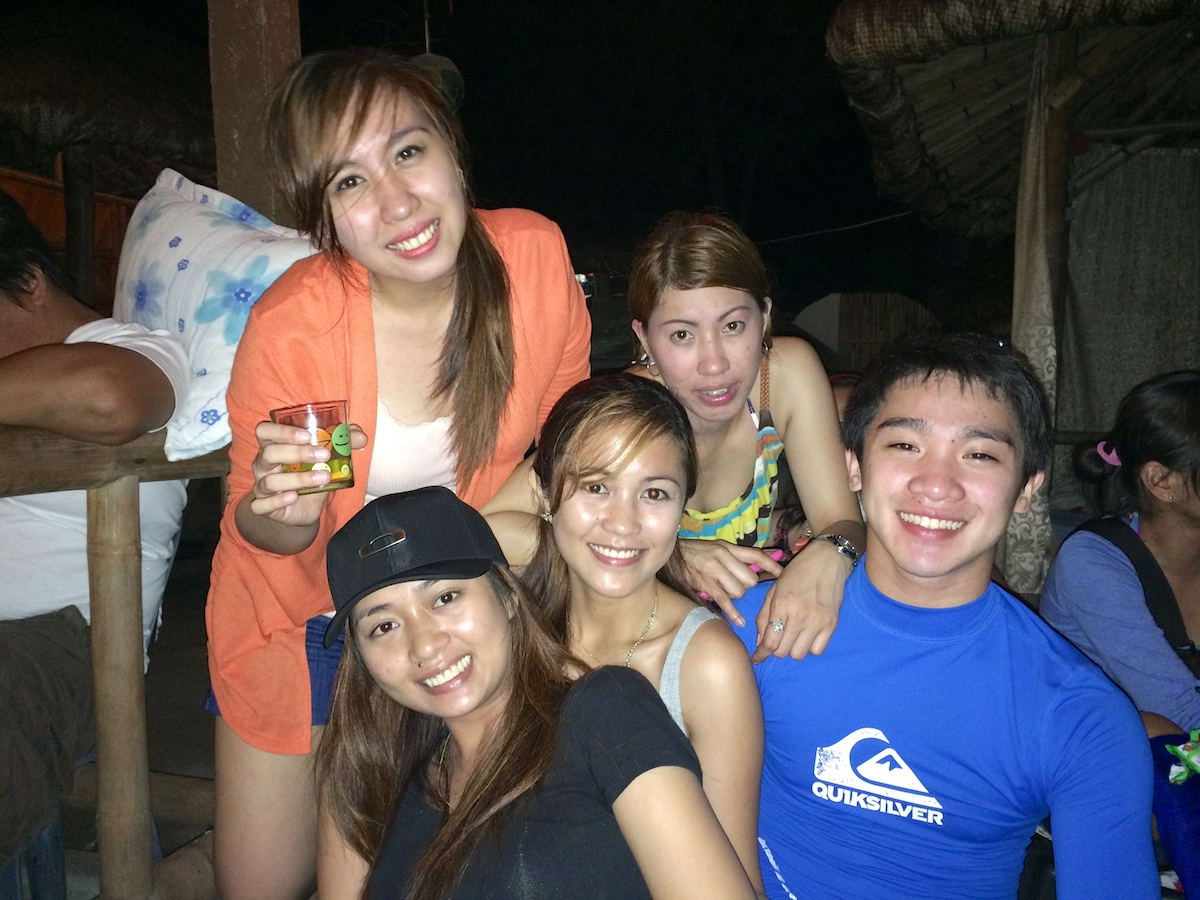 Me and my mountaineering friends during our Christmas Party