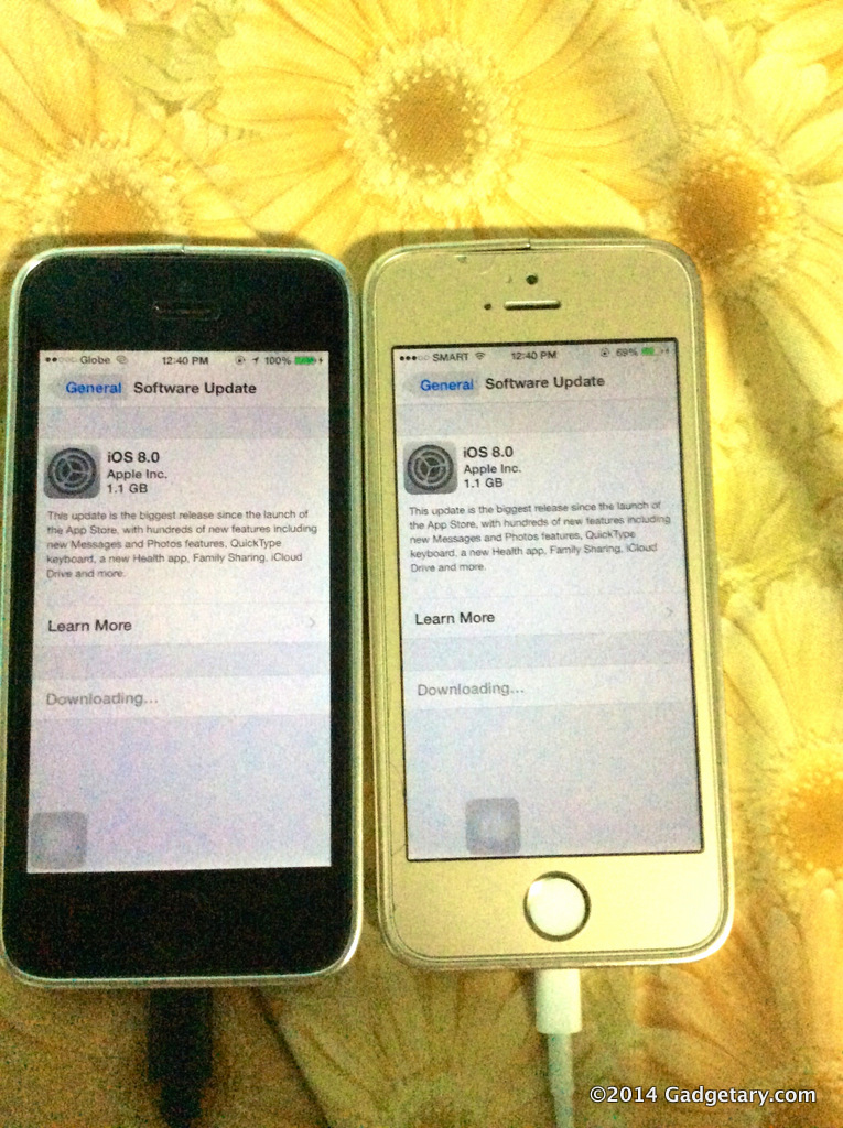 how to delete all photos from iphone 5 ios 8